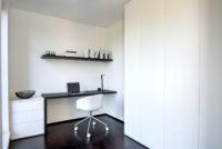 Modern bureau zwart wit 1