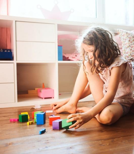 Kinderkamer opruimen spelen