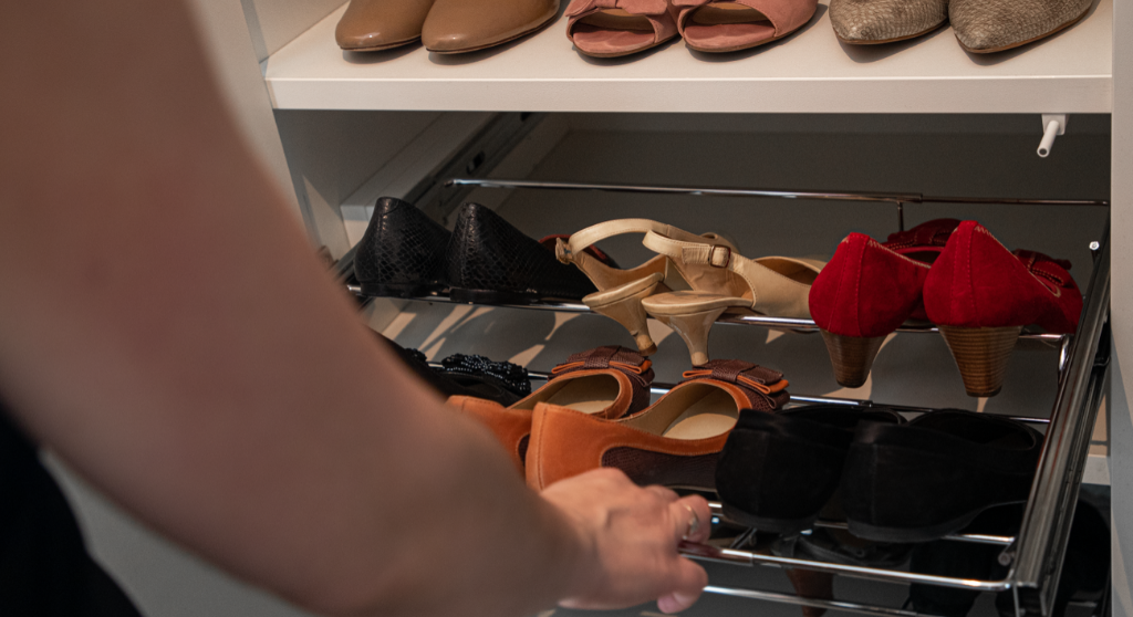 schoenenrek uittrekbaar