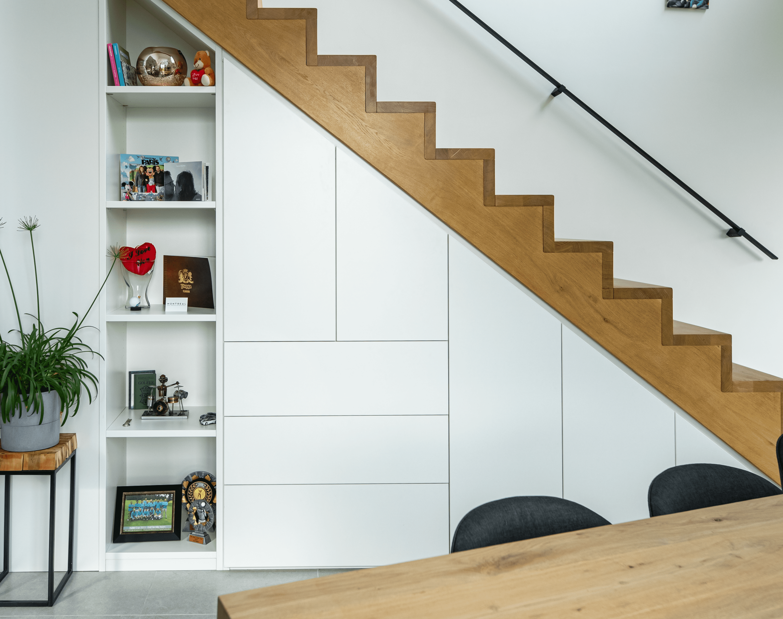 inbouwkast trap