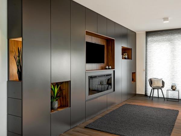 Tv-meubel met ingebouwde verlichting