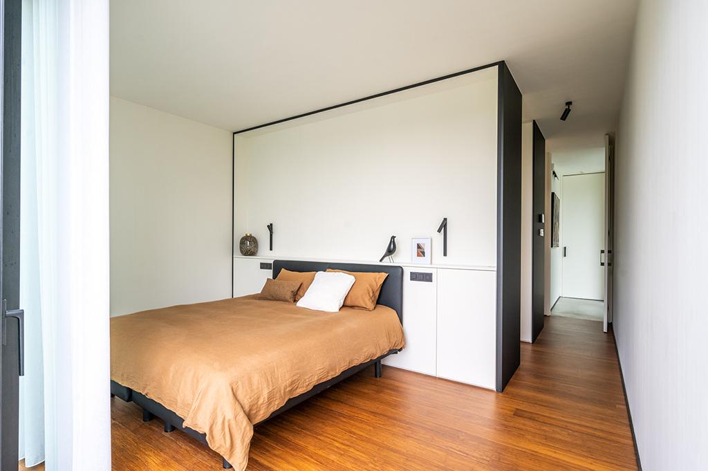 Beddenwand op maat slaapkamer